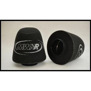 Vzduchový filter MWR - universální kuželový s gumovým pouzdrem