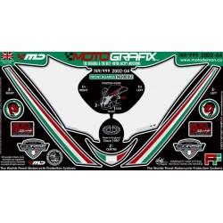Ducati 749 999 02 - 04 - přední kapotáž